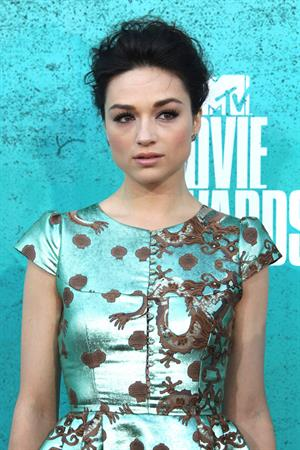 Crystal Reed - 2012 MTV Movie Awards (Arrival) in Universal City (June 3, 2012)