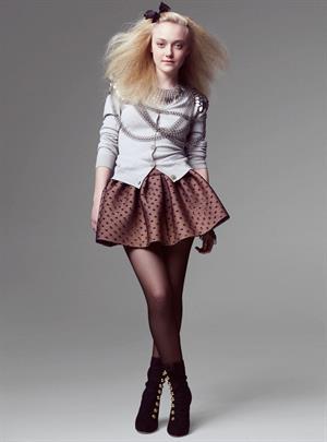 Dakota Fanning - Tesh Photoshoot For Marie Claire