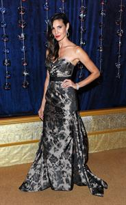Daniela Ruah Diamond and Pearl Ball 2012 in Costa Mesa 10/13/12