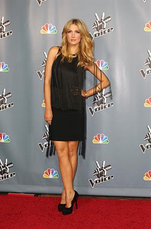 Delta Goodrem  The Voice  Season 4 Premiere Hollywood, Mar. 20, 2013