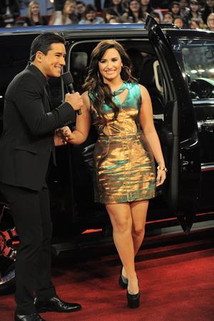 Demi Lovato The X Factor season finale results show in LA 12/20/12