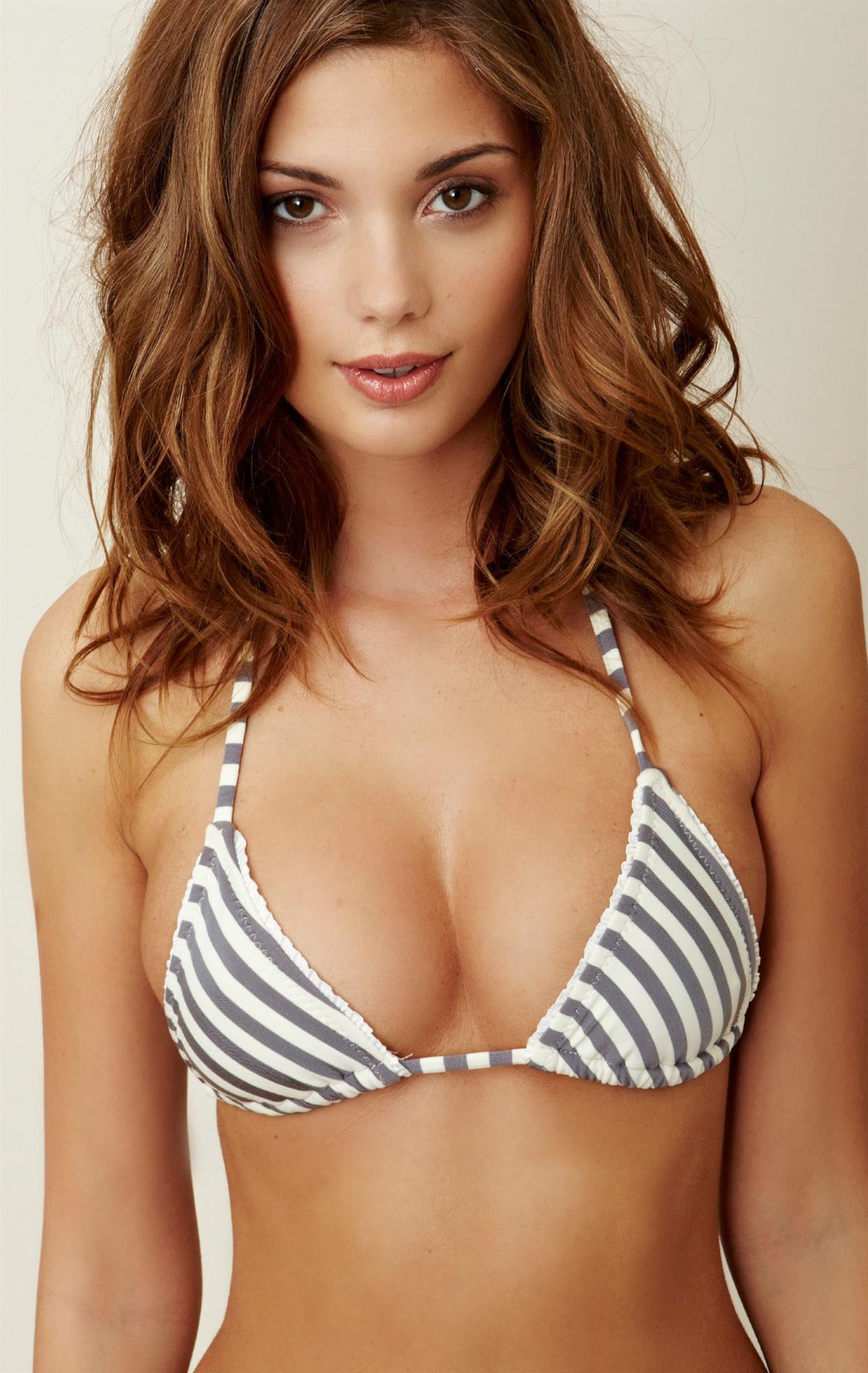 Terra Jo Wallace in a bikini