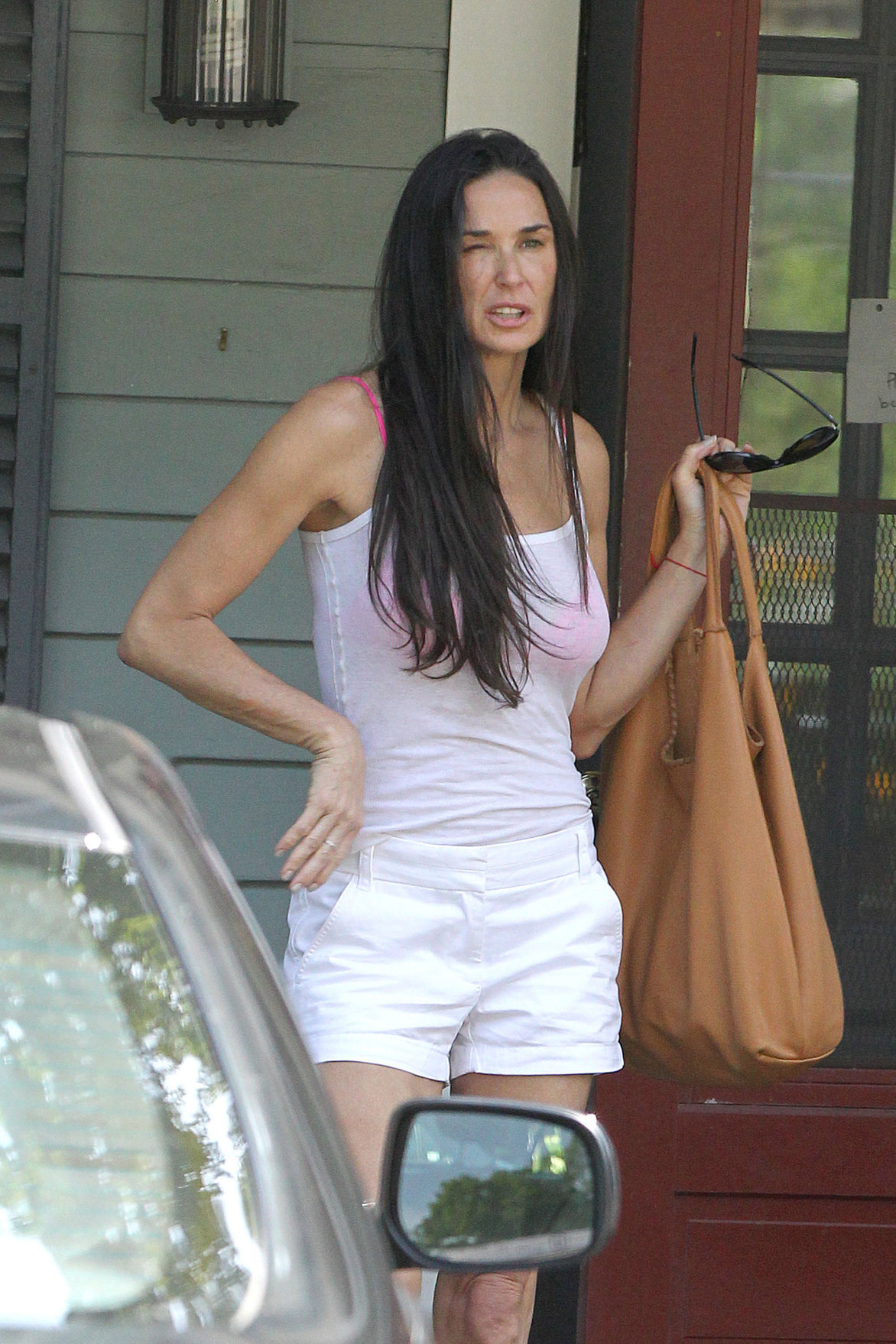 Demi Moore lunch with new BF in New Preston July 19, 2012