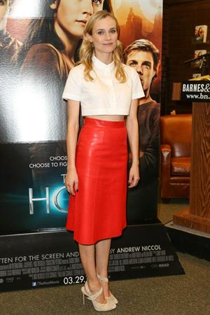 Diane Kruger Celebrate the Film Release of The Host at Barnes & Noble on March 15, 2013