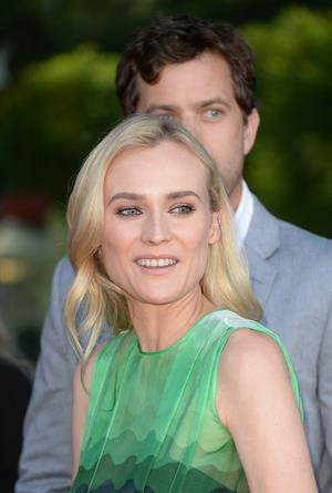 Diane Kruger arrive at the Series Premiere of F's 'The Bridge' at the DGA Theater July 8, 2013