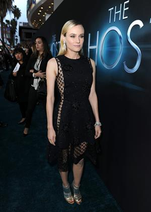 Diane Kruger Premiere of Open Road Films 'The Host' at ArcLight Cinemas Cinerama Dome in Hollywood March 19, 2013
