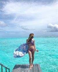 Tara Lipinski in a bikini