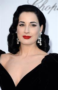 Dita Von Teese amfAR's 20th Annual Cinema Against AIDS (May 23, 2013)