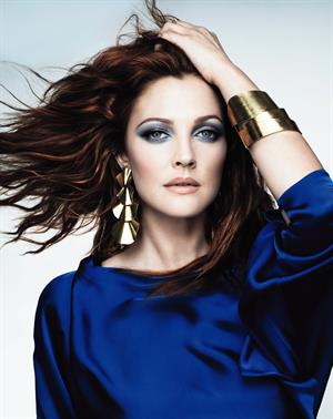 Drew Barrymore - Covergirl Photoshoot