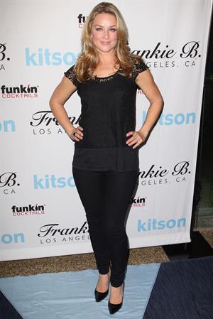Elisabeth Rohm - Get Festive With Frankie B. and Kitson - December 6, 2012