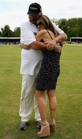 Elizabeth Hurley at Circenster Cricket Club in Cirencester- June 9, 2013
