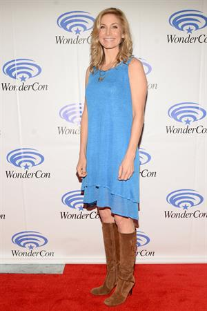 Elizabeth Mitchell WonderCon Anaheim 2013 Day 2 on March 30, 2013