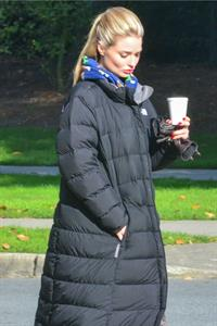 """Emma Rigby """"Once Upon a Time in Wonderland"""" set 10/18/13"""