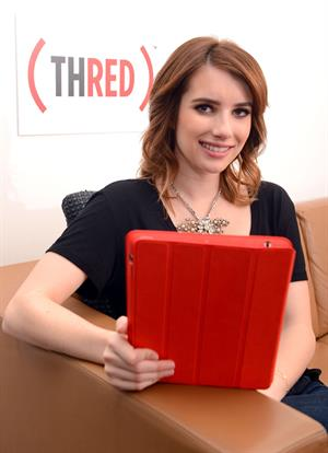 Emma Roberts Coca-Cola & RED event to help deliver an AIDS Free Generation in LA 12/20/12