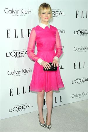 Emma Stone Elle's Women in Hollywood event in Beverly Hills 10/15/12