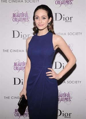 Emmy Rossum 'Beautiful Creatures' screening in New York 2/11/13