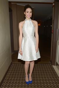 Emmy Rossum at Late Night with Jimmy Fallon in NYC 1/15/13