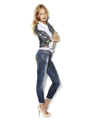 Erin Heatherton Suiteblanco Jeans Ad Campaign 2012