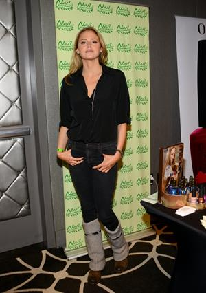 Estella Warren Kari Feinstein Style Lounge - Pre-Golden Globes 2013 - Day 1 (Jan 10, 2013)