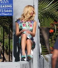 Erin Heatherton at a photoshoot in Miami 12/19/12