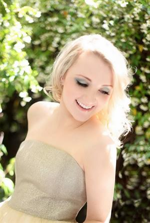 Evanna Lynch Just Jared Photoshoot - Bagatelle, LA - May 2012
