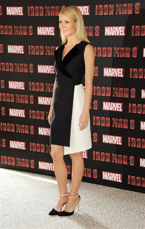 Gwyneth Paltrow  Iron Man 3  Photocall in London -- Apr. 17, 2013
