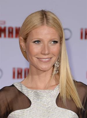 Gwyneth Paltrow 'Iron Man 3' premiere in Hollywood 4/24/13