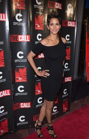 Halle Berry attends the Chicago Premiere of The Call in Chicago on February 28, 2013
