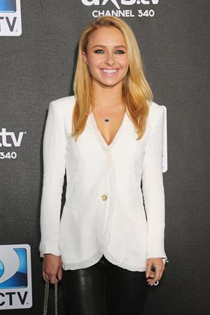 Hayden Panettiere attends the DirecTV Super Bowl Party in New Orleans (02.02.2013)