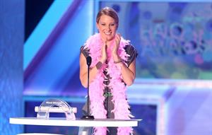 Heather Morris at Nickelodeon's 2012 TeenNick HALO Awards at Hollywood Palladium in Hollywood on Nov. 17, 2012