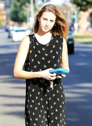 Whitney Port Running errands in Brentwood (October 13, 2012)