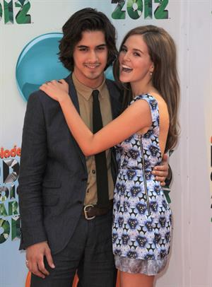 Zoey Deutch 25th annual Kids Choice Awards 3/31/12