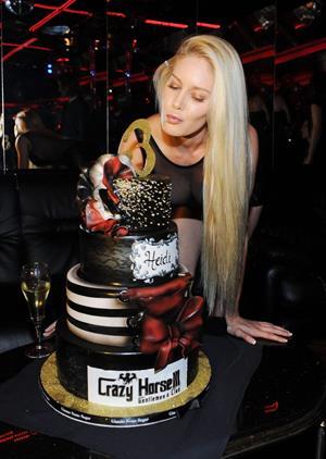 Heidi Montag at the Crazy Horse III Third Anniversary in Las Vegas October 19, 2012