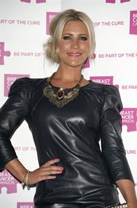 Heidi Range  Breast Cancer Campaign Launch - October 1, 2012
