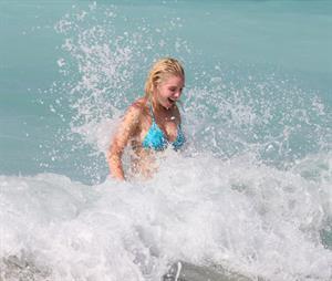 Helen Flanagan In a bikini in Dubai - March 25, 2013
