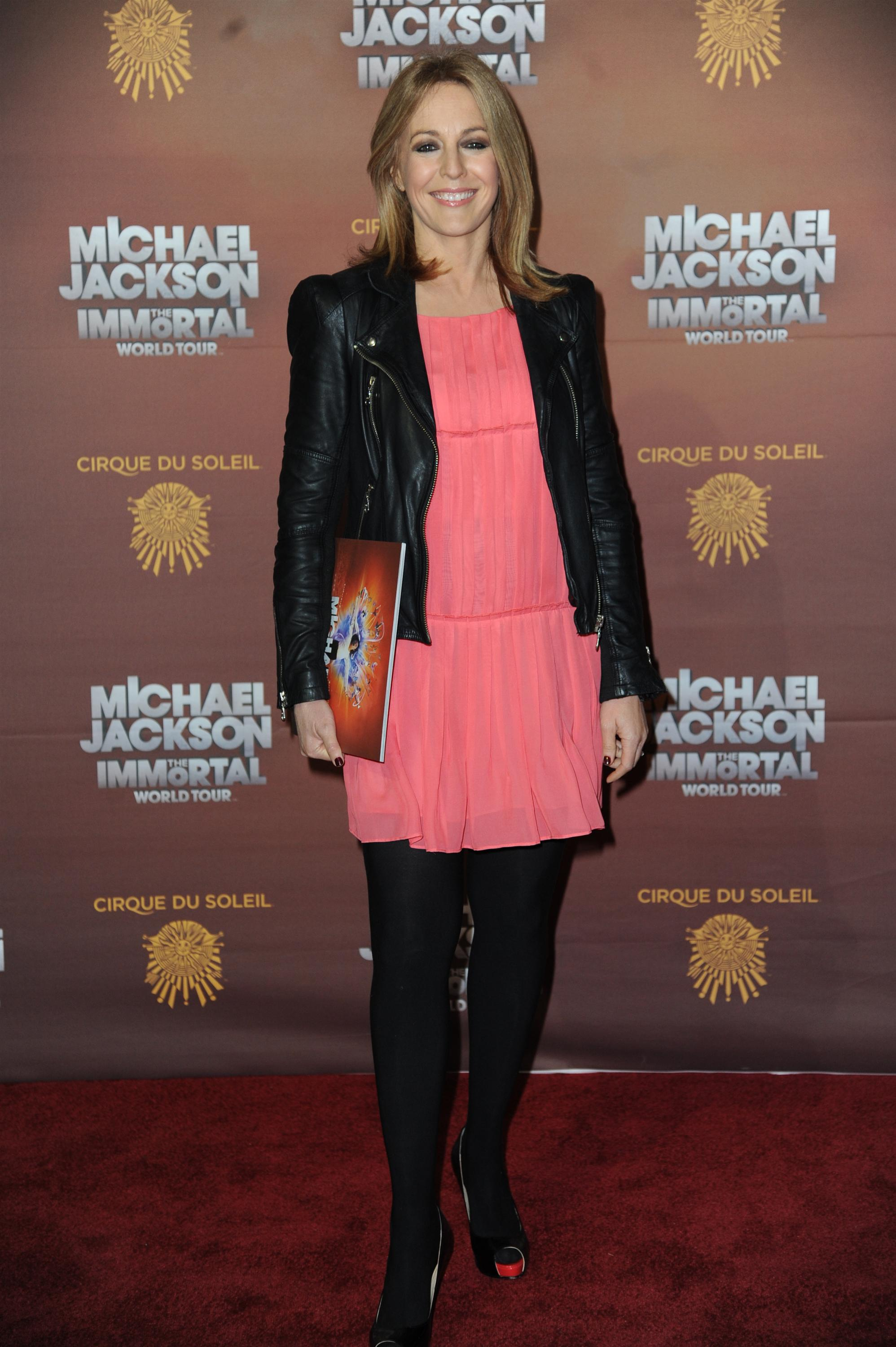 Helen Fospero  Michael Jackson The Immortal World Tour  European Premiere in London - October 12, 2012.