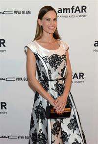 Hilary Swank attends the 3rd annual amfAR Inspiration Gala New York on June 7, 2012