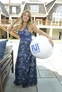 Hilary Duff - Fiji Water Days of Summer 7/20/13
