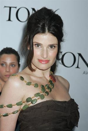 Idina Menzel at 62nd Annual Tony Awards on June 15, 2008