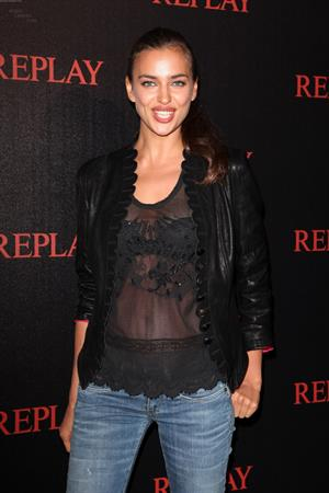 Irina Shayk replay party at the Martinez hotel in Cannes on May 22, 2012