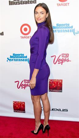Irina Shayk Sports Illustrated Swimsuit Issue Launch Party -- New York, Feb. 12, 2013