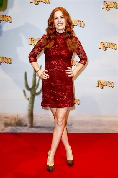 Isla Fisher Rango Germany premiere in Berlin on February 20, 2011