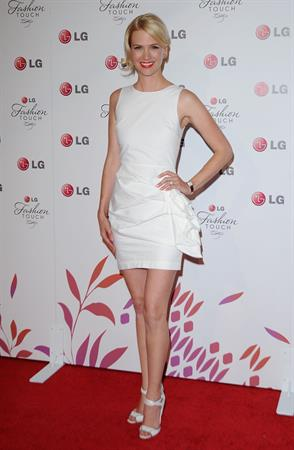 January Jones night of fashion and technology with LG Mobile phones on May 24, 2010