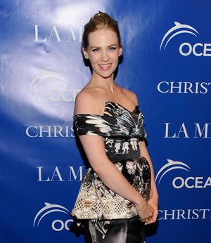 January Jones LA Revolution Bleue screening in New York City on May 5, 2012