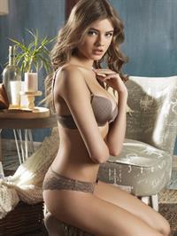 Sima Jakuleviciute in lingerie