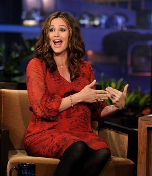 Jennifer Garner on the Tonight Show with Jay Leno on January 1, 2012