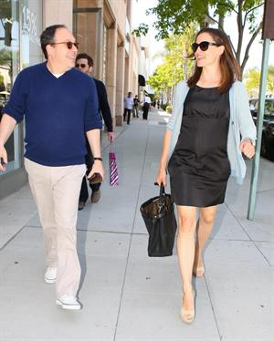 Jennifer Garner out about in Beverley Hills on May 25, 2011