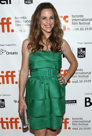 Jennifer Garner at The Invention of Lying screening during the 2009 Toronto International Film Festival in Toronto