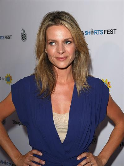 Jessalyn Gilsig LA Shorts Fest 2009 opening night July 23rd 2009