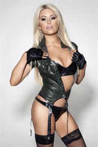 Tiffany Stanley in lingerie